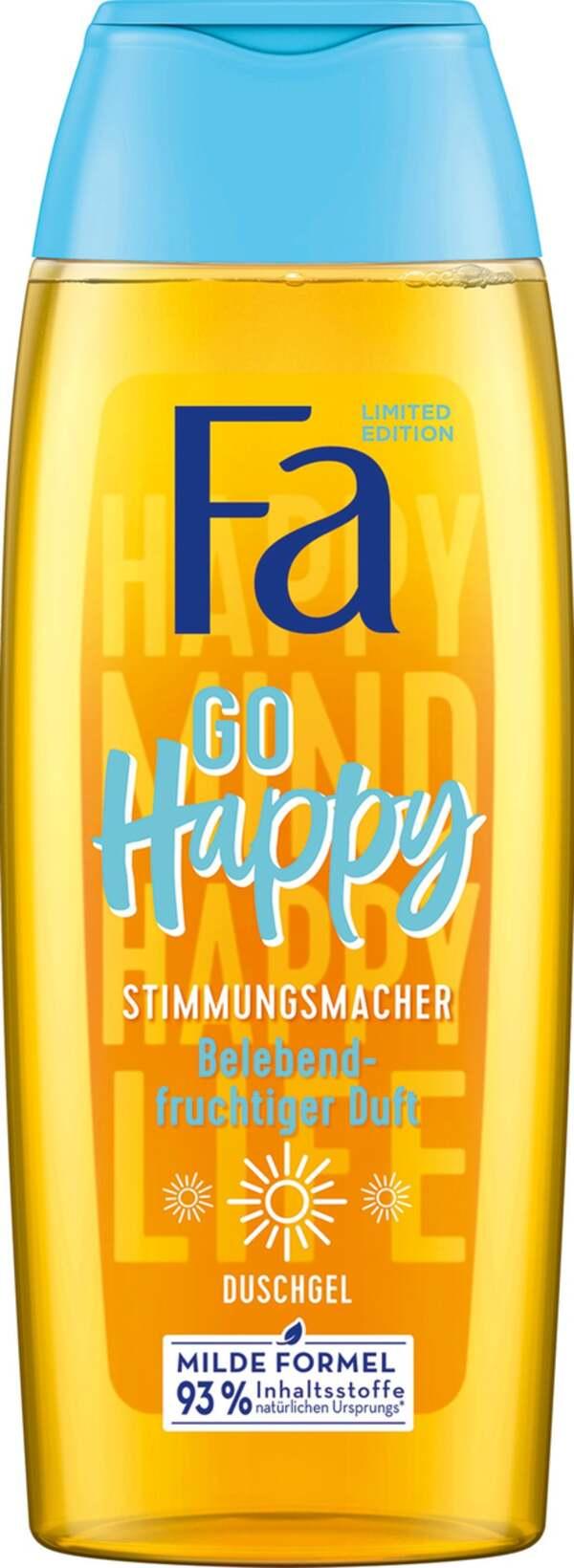 Fa Duschgel Go Happy Stimmungsmacher