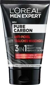 L'Oréal Paris men expert PURE CARBON Anti-Pickel tägliches Waschgel