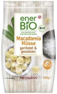 enerBiO Macadamia Nüsse