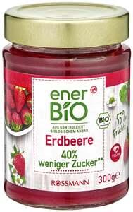 enerBiO Fruchtaufstrich Erdbeere