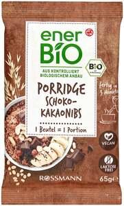 enerBiO Porridge Schoko-Kakaonibs