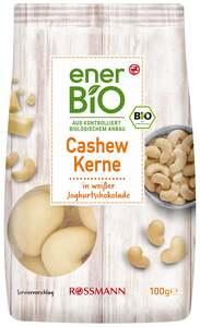 enerBiO Cashewkerne in weißer Joghurtschokolade