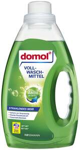 domol Strahlendes Weiß Vollwaschmittel Flüssig 20 WL