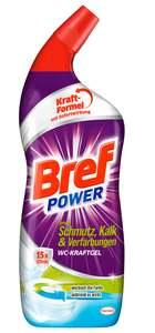 Bref Power WC-Kraft Gel gegen Schmutz, Kalk & Verfärbungen