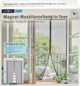 IDEENWELT Magnet-Moskitovorhang für Türen