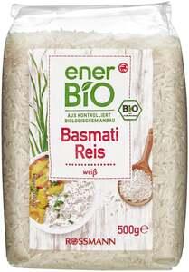 enerBiO Basmatireis weiß