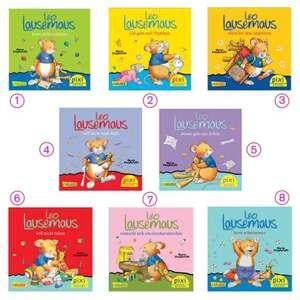 Mini-Buch Leo Lausemaus