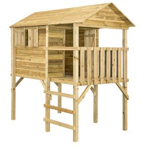 RSC Spielhaus auf Stelzen 'Doro' 130 x 210 cm naturbelassen