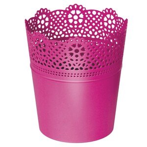 Prosperplast Blumentopf Lace in fuchsia