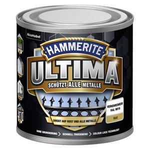 Metallschutzlack 'Ultima' RAL 9016 verkehrsweiß matt 250 ml