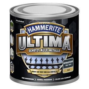 Metallschutzlack 'Ultima' RAL 7016 anthrazitgrau matt 250 ml