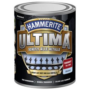 Metallschutzlack 'Ultima' RAL 3003 rubinrot glänzend 750 ml