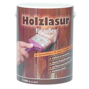 Holzlasur 5 Liter, Teak
