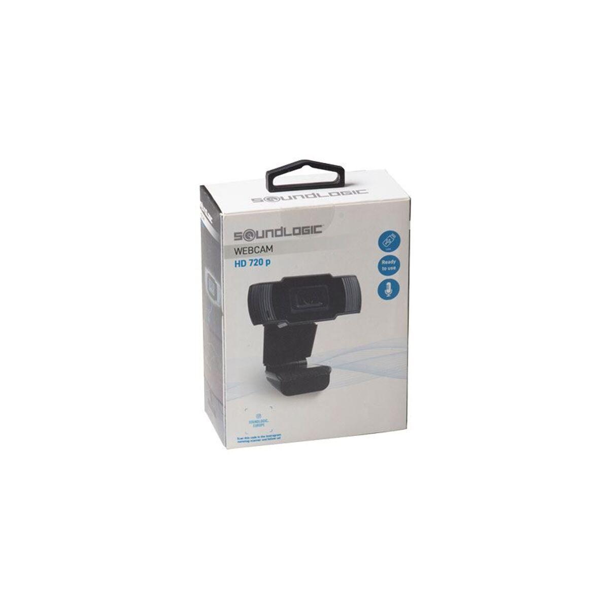 Bild 2 von Soundlogic Webcam mit Mikrofon HD 720p