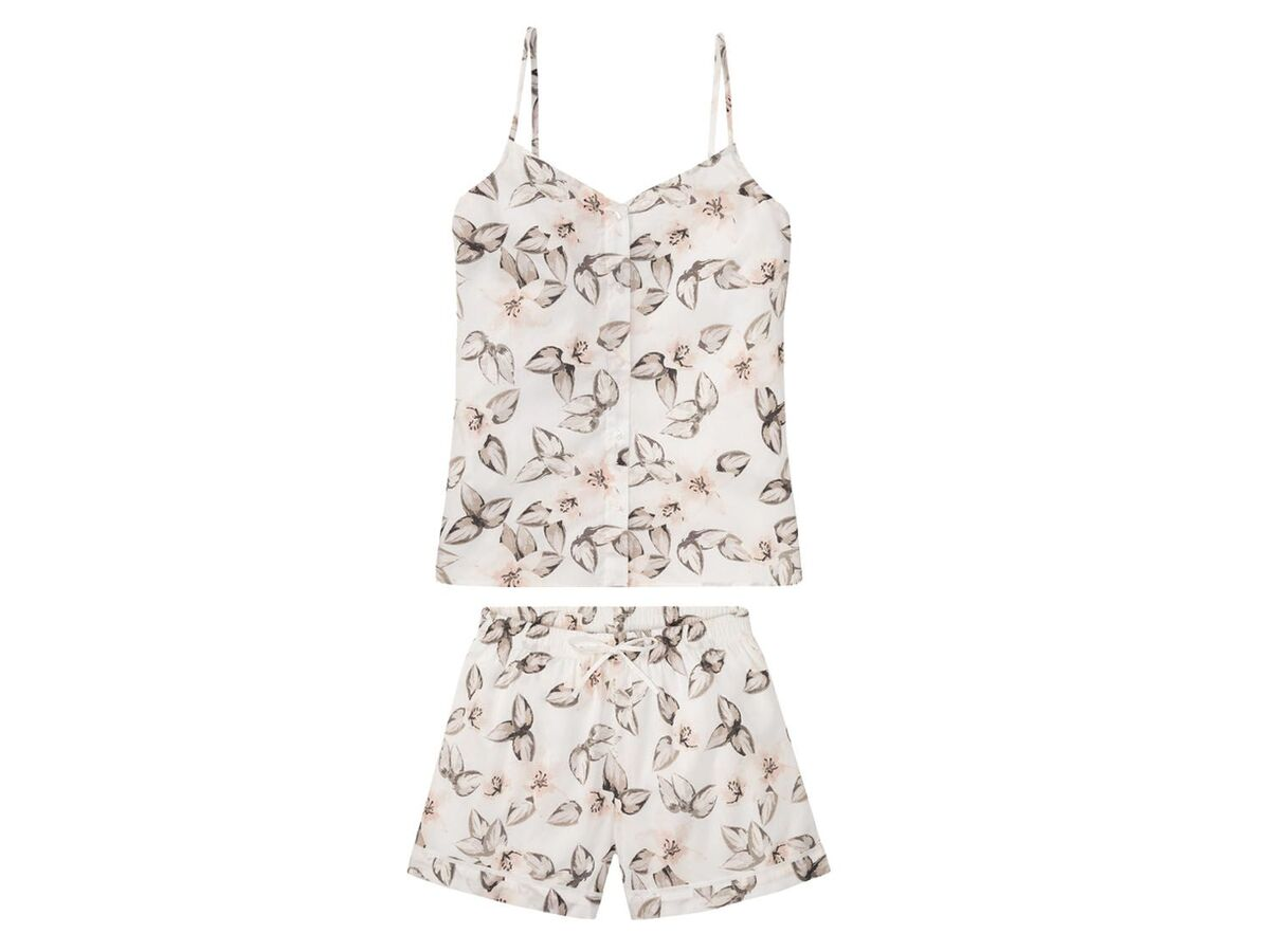 Bild 2 von ESMARA® Shorty Pyjama Damen, aus reiner Baumwolle
