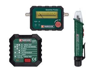 PARKSIDE® Kontaktloser Stromtester/ Satellitenfinde / Steckdosentester »PSSFS 3 A2«