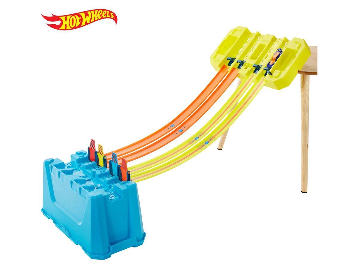 Bild 1 von Hot Wheels Track Builder Unlimited »Mehrspurige Speed Box«