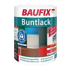 BAUFIX Buntlack, schwarz, 1 L