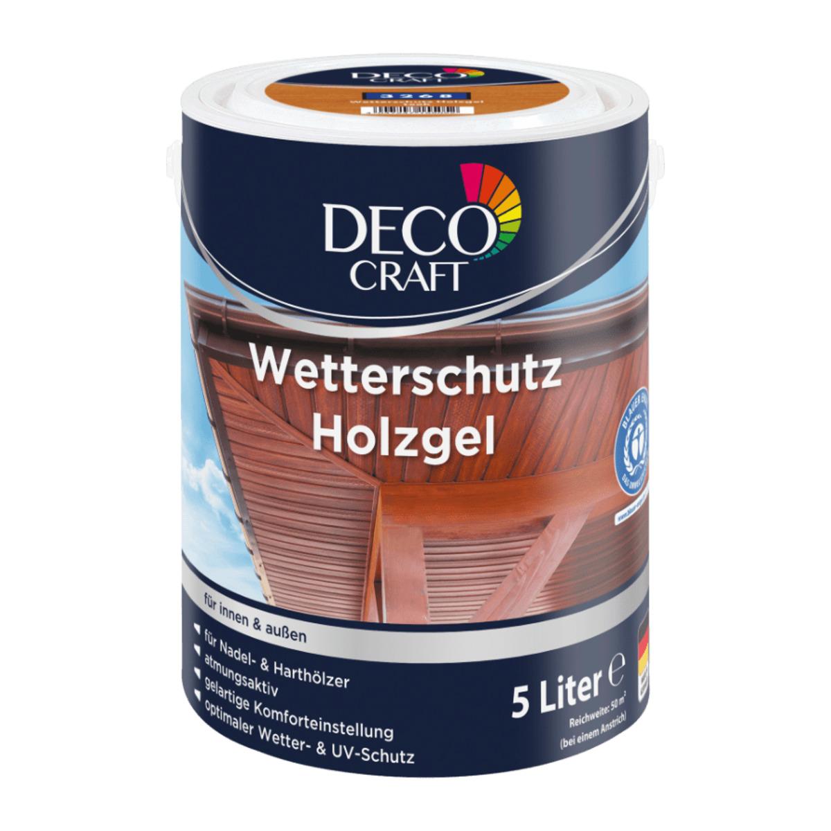 Bild 2 von DECO CRAFT     Wetterschutz Holzgel