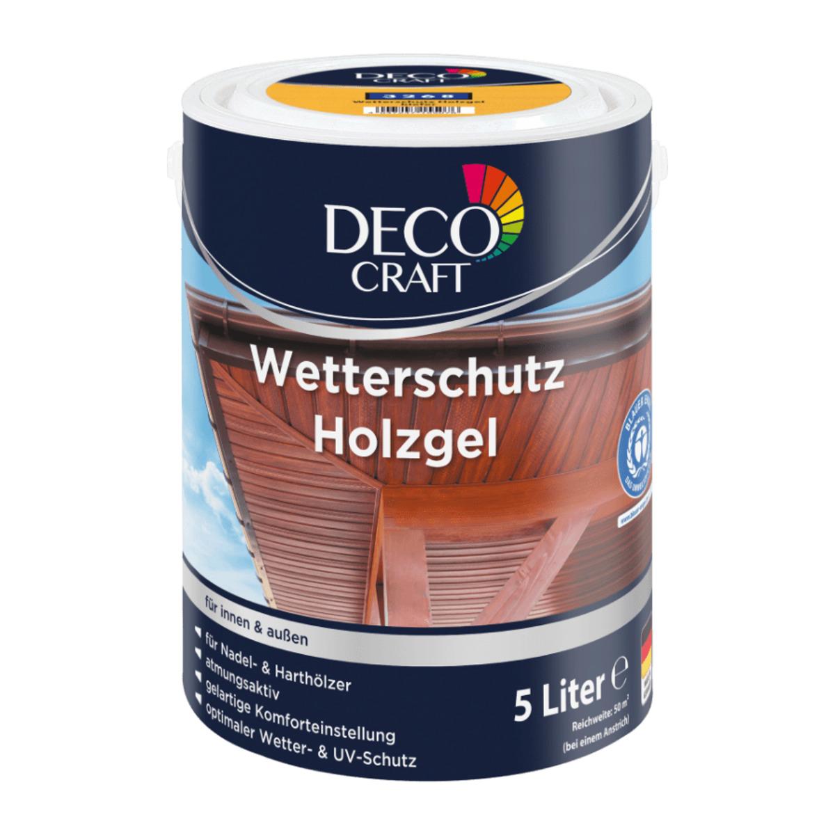 Bild 3 von DECO CRAFT     Wetterschutz Holzgel
