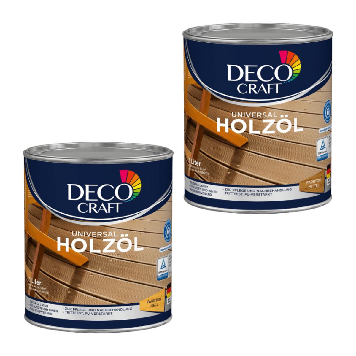 Bild 1 von DECO CRAFT     Universal Holzöl