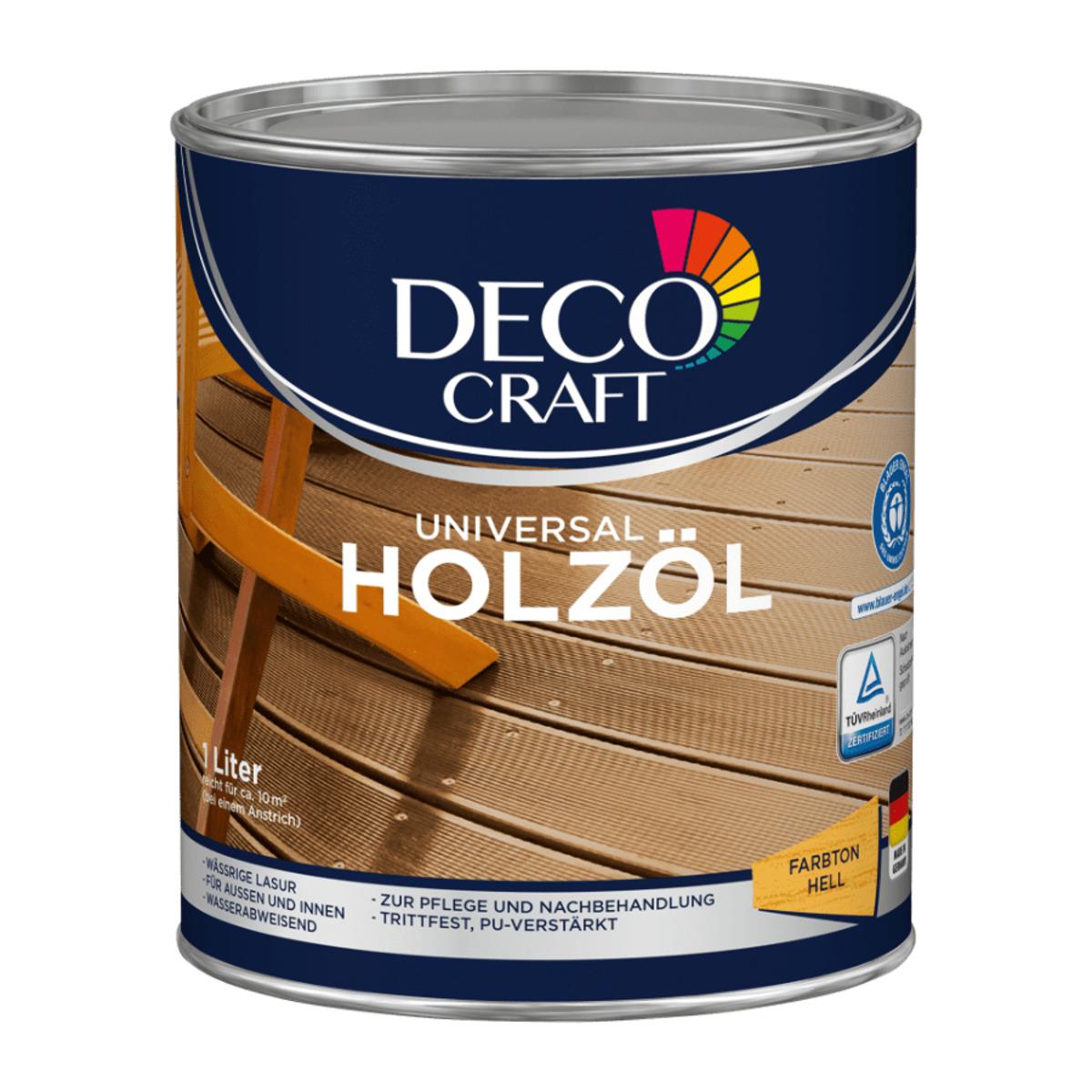 Bild 2 von DECO CRAFT     Universal Holzöl