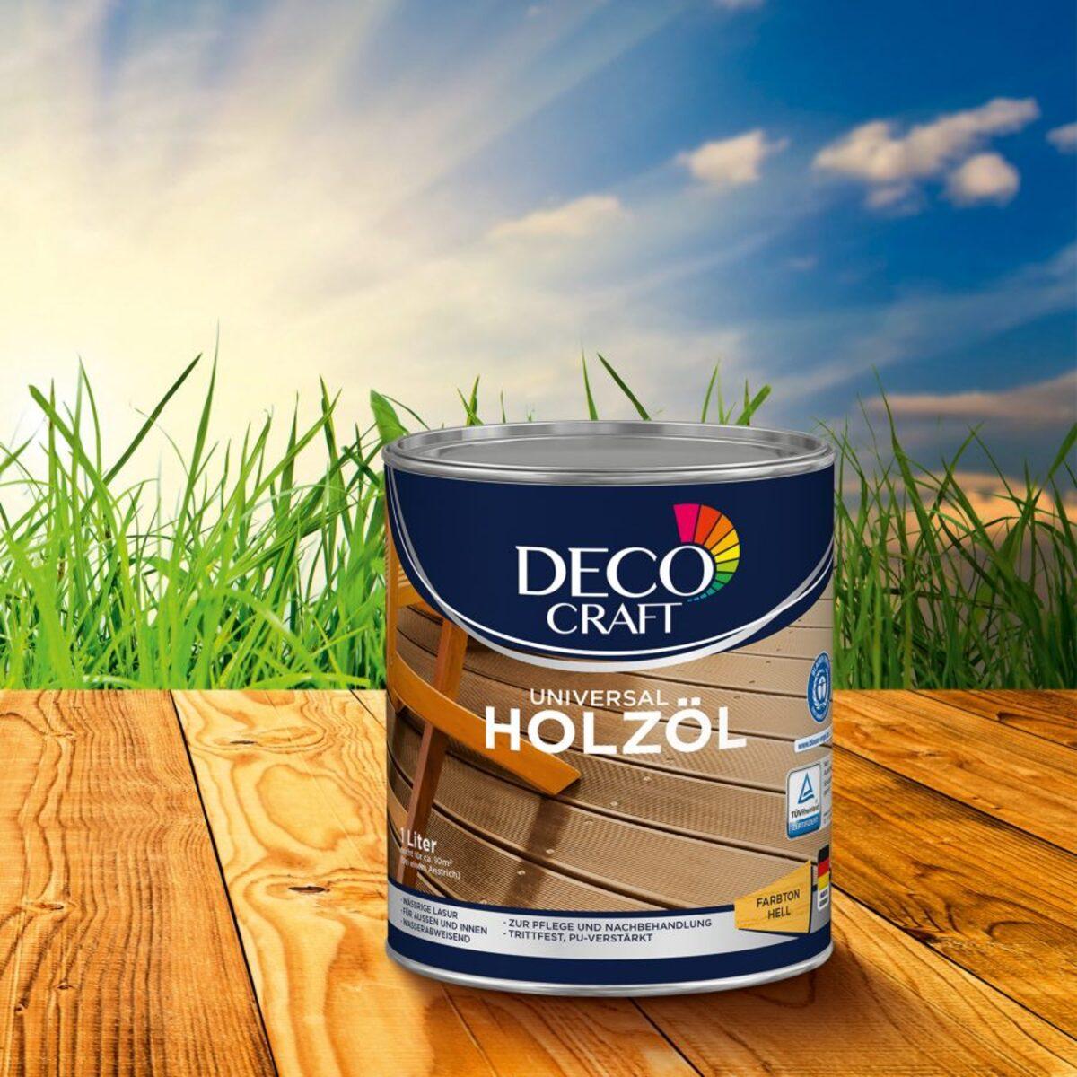 Bild 5 von DECO CRAFT     Universal Holzöl