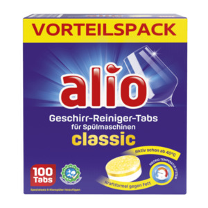ALIO     Geschirr-Reiniger-Tabs classic