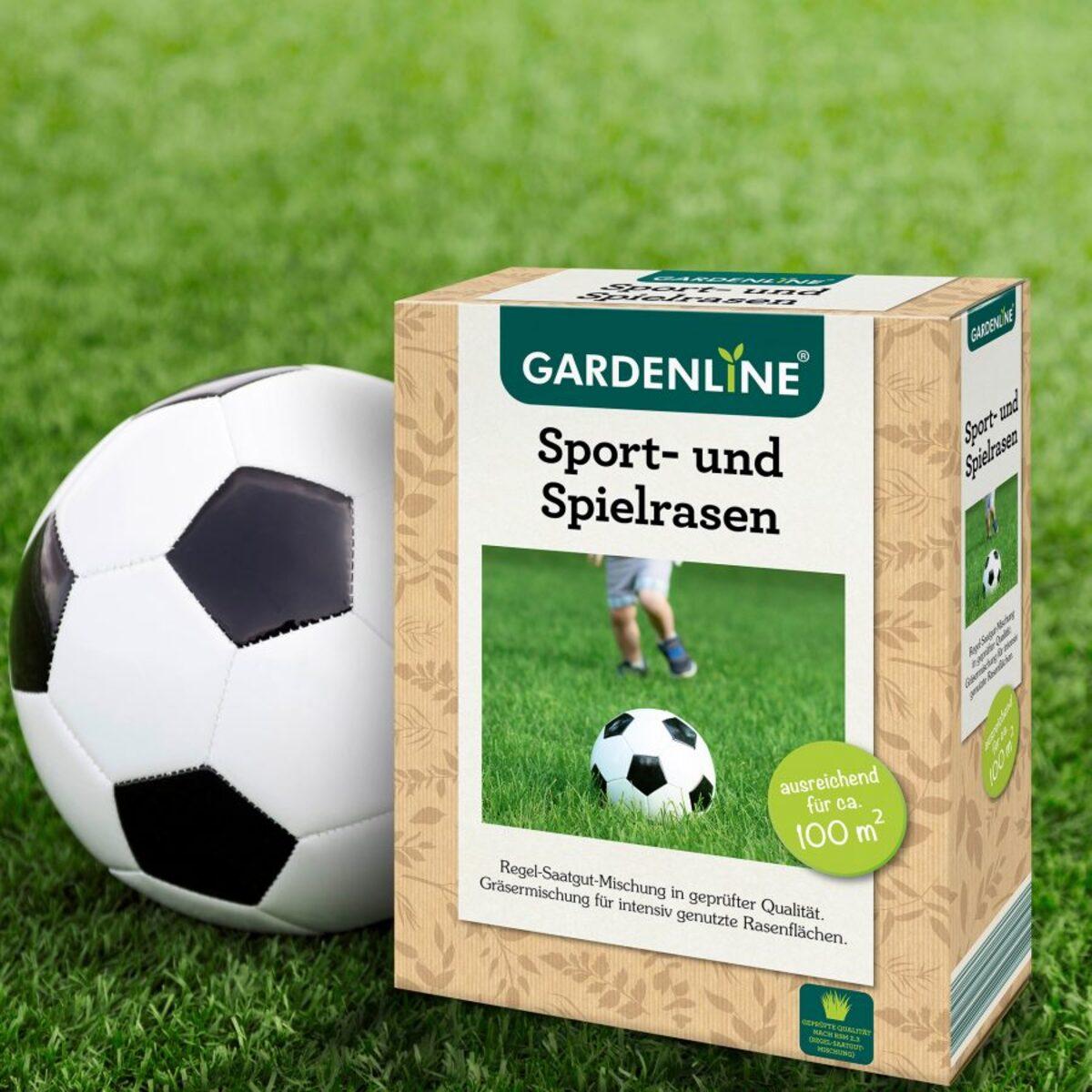 Bild 2 von GARDENLINE     Sport- und Spielrasen