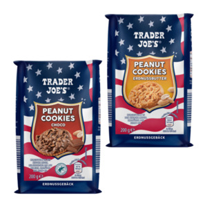 TRADER JOE'S     Peanut Cookies