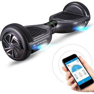 """Bluewheel Premium Hoverboard HX310s App-Steuerung 6.5""""... Carbon"""
