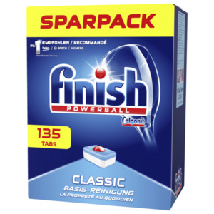 Finish Spülmaschinentabs Classic Sparpack 135 Tabs