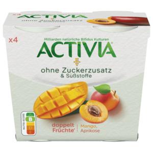 Danone Activia Mango Aprikose 4x110g