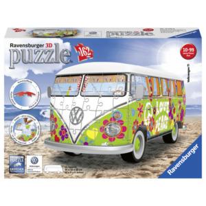 Ravensburger 3D Puzzle Volkswagen T1 Hippie Style 162 Teile