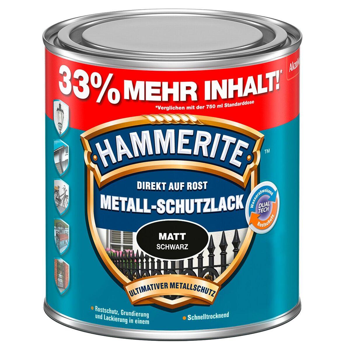 Bild 1 von HAMMERITE™ Metall-Schutzlack 1 l