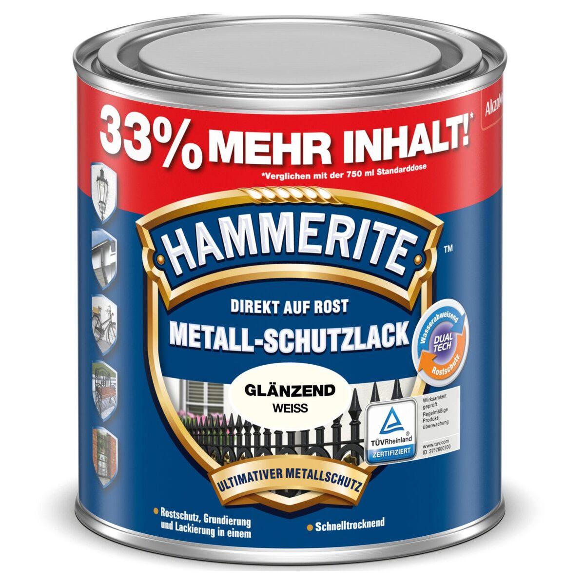 Bild 3 von HAMMERITE™ Metall-Schutzlack 1 l