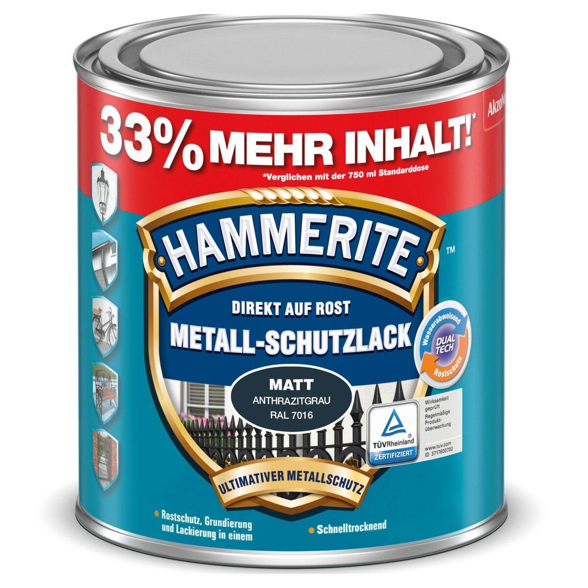 Bild 4 von HAMMERITE™ Metall-Schutzlack 1 l