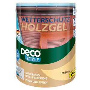 DECO STYLE®  Wetterschutz-Holzgel 5 l