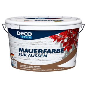 DECO STYLE®  Weiße Mauerfarbe 5 l