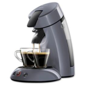 PHILIPS SENSEO Kaffeepadmaschine HD7806/50 und H7806/10