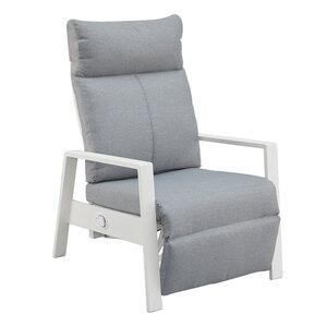 Relaxsessel Vonge (weiß-grau)