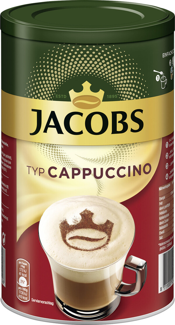 Jacobs Momente Instant Cappuccino 400G