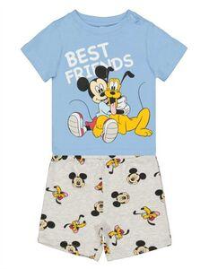 Jungen Set aus T-Shirt und Hose mit Micky-Print
