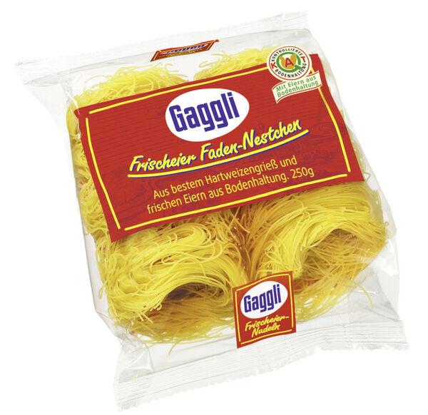 Gaggli Frischeier-Faden-Nestchen 250 g