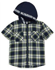 Jungen Hemd mit Kapuze