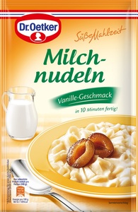 Dr.Oetker Milchnudeln Vanille-Geschmack 116 g