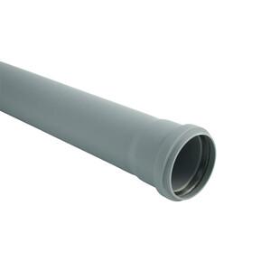 Marley HTEM-Rohr mit Steckmuffe DN 75, 1000 mm