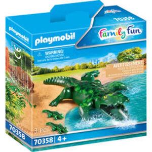 PLAYMOBIL® Family Fun 70358 Alligator mit Babys