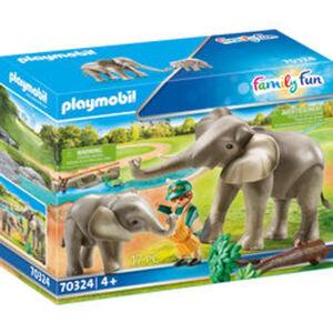 PLAYMOBIL® Family Fun 70324 Elefanten im Freigehege