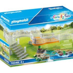 PLAYMOBIL® Family Fun 70348 Erweiterungsset Erlebnis-Zoo